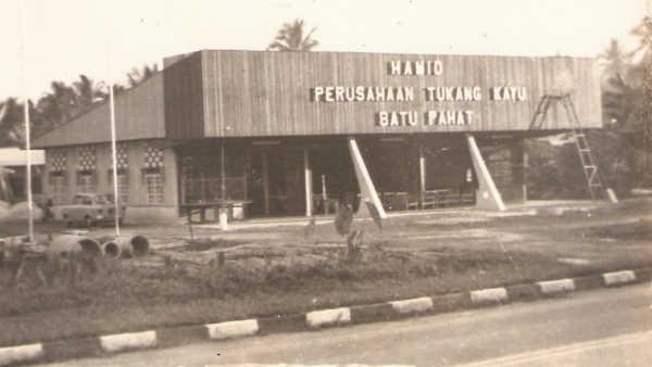 Hamid Perusahaan Tukang Kayu - New Batu Pahat Factory 1970