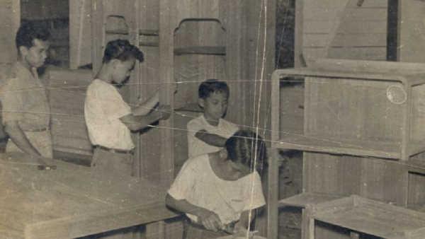 Hamid Tukang Kayu Apprentice, Learning and Working Program 1960s