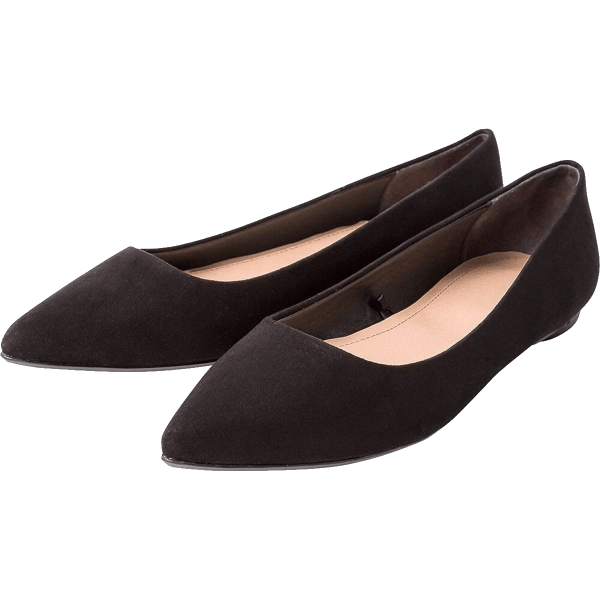 Sepatoo Black Pointee Flats Fall 2018