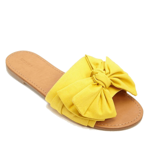 Sepatoo Sandals Yellow Ribbon Fall 2018