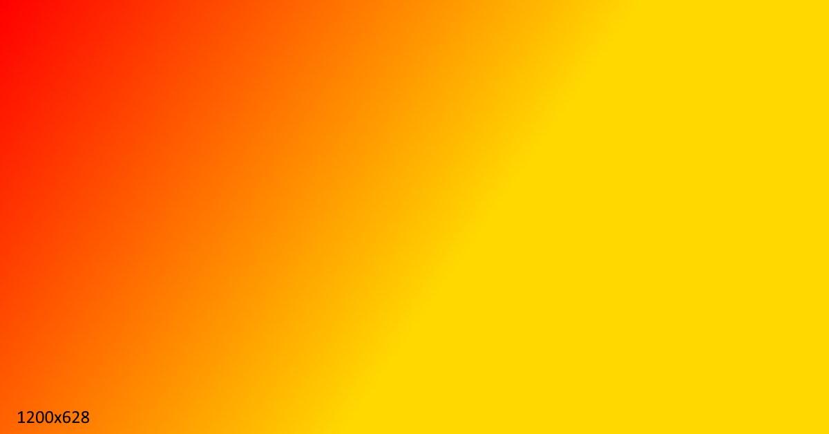Demo Feature Image Orange Yellow
